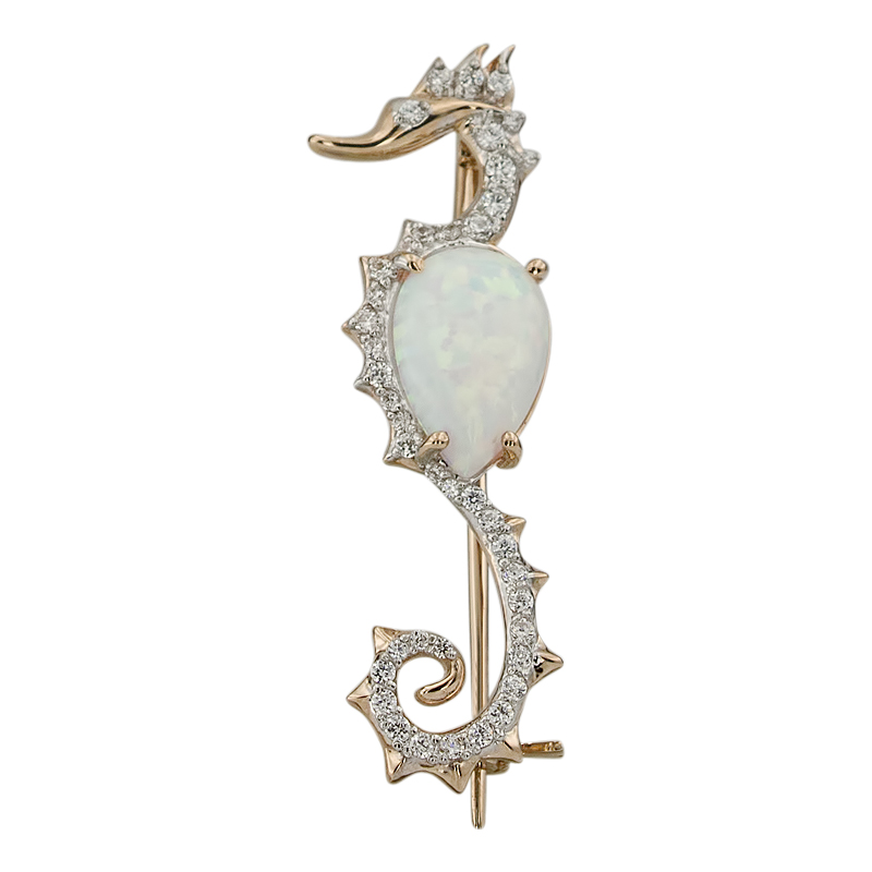 Золотая Брошь Арт 1683 фото
