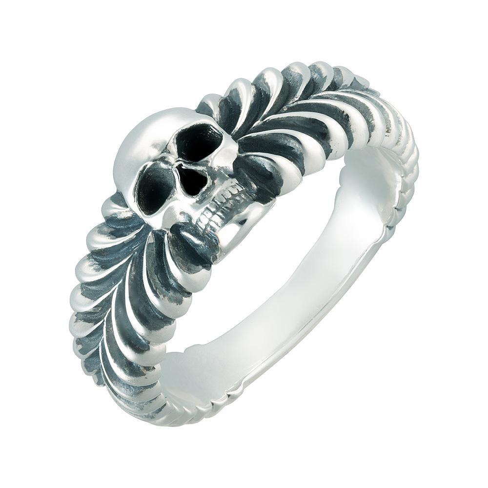 Кольцо. Серебряные кольца и печатки. Арт.2144 из золота 585 пробы