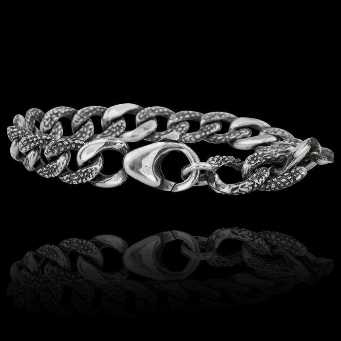 Браслет. Серебряные браслеты. Арт.1758 из золота 585 пробы