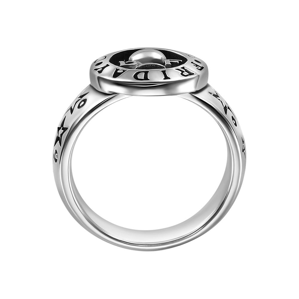 Кольцо. Серебряные кольца и печатки. Арт.2109 из золота 585 пробы